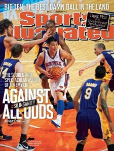 "Why was Jeremy Lin's s superior play described as ""against all odds."" He has the height and quickness to play in the NBA. Apparently, his Asian features were the only odds he was facing."